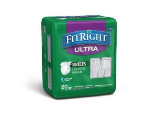 Assorted FitRight Diapers 2x20pack Mixed Sizes & Incontinence level