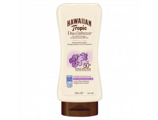 Hawaiian Tropic Duo Defence Sunscreen Lotion SPF50+ 180 mL