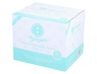 Dymples Thick & Soft Baby Wipes (20 x 16cm)