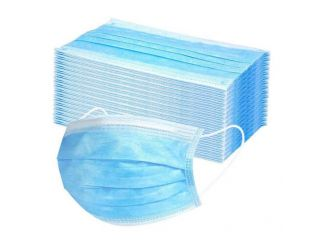6x 50-Packs - 3 Ply Protective Disposable Face Masks