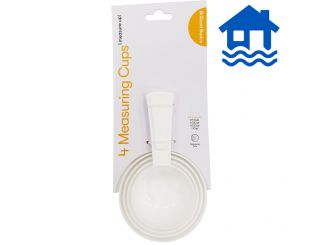 Brilliant Basics Measuring Cups 4-Pack - Flood Relief