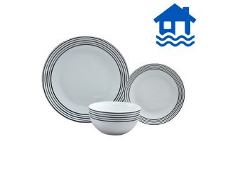 Brilliant Basics 12 piece Dinner Set Flood Relief
