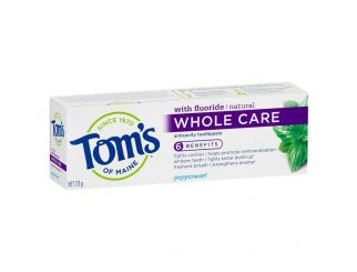 Tom's of Maine Toothpaste - Whole Care - 113g
