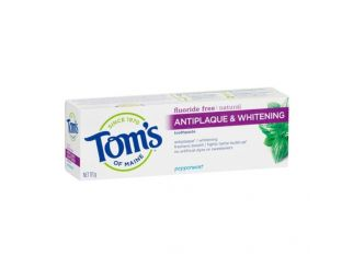Tom's of Maine Toothpaste Antiplaque & Whitening - 113g