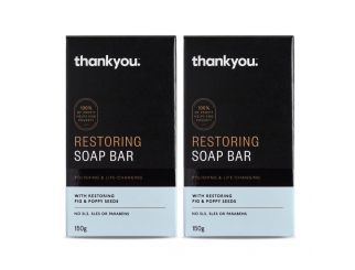 Thankyou Restoring Soap Bar - 10x 6-Packs Flood Relief