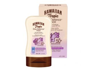 Hawaiian Tropic Duo Defence Sunscreen Face SPF50+ 100 mL