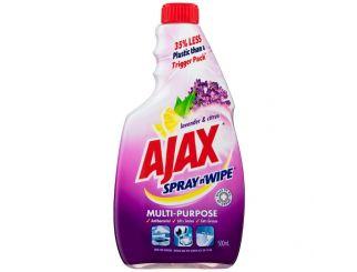 Ajax Spray & Wipe Lavender Refill 750mL