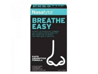 Nasafytol Breathe Easy Triple Action Formula 36pkt of 45 Tablets Expires Oct 2021