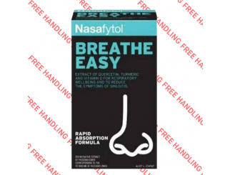 Nasafytol Breathe Easy Triple Action Formula 36pkt of 45 Tablets Expires Oct 2021