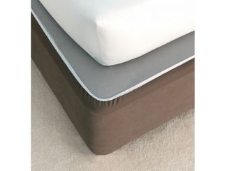 Double Bed Valances - Chocolate