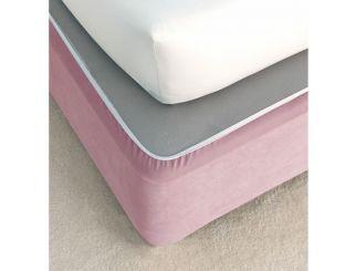 Double Bed Valances - Aubergine