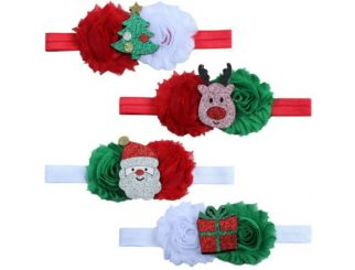 Assorted Christmas Baby Hair Accessories