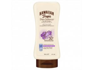 Hawaiian Tropic Duo Defence Sunscreen Lotion SPF50+ 180 mL