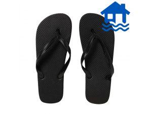 Plain Men's Thong size 10 - Black Flood Relief