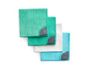 Microfibre Cloths 4x 4-Packs - Koh