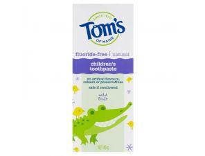 TOMS Toothpaste Children's Fluoride-Free Toothpaste - 49g