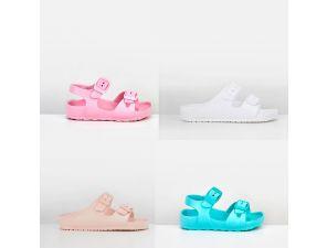 Girls Senior Sandals - Assorted Colours & Sizes