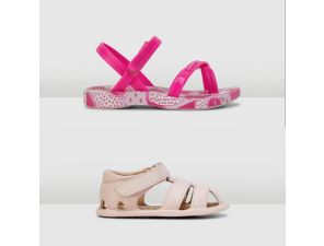Baby Girls Sandals - Assorted Colours & Sizes