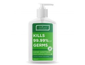 Elive Moisturising Hand Sanitiser 240mL C&C Only Expires 04/04/2022