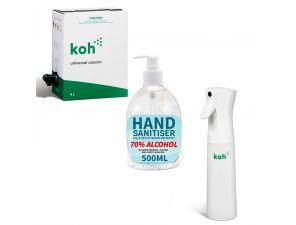 Keep it Clean Kit - Cleaner, Sprayer