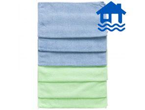 Microfibre Cloths 6x 6-pack Flood Relief