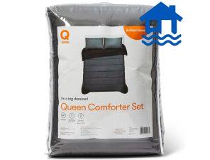 Brilliant Basics Comforter Set - Queen Bed- Flood Relief