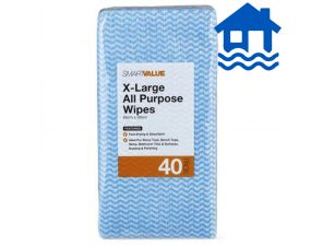 XL All Purpose Wipes 6x 40-pack Flood Relief